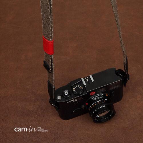Cam-in correa para hombro ajustable para DSLR Sony NEX FUJI Leica EOS Micro 4//3 M M