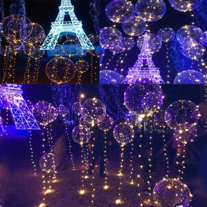 PALLONE-luminoso-LED-colorato-Decorazione-Di-Natale-Festa-Matrimonio-Palloncini-Luce