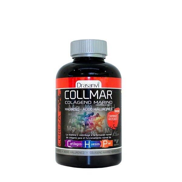 COLLMAR COLAGENO MARINO MASTICABLE SABOR CEREZA 180 COMP. DRASANVI