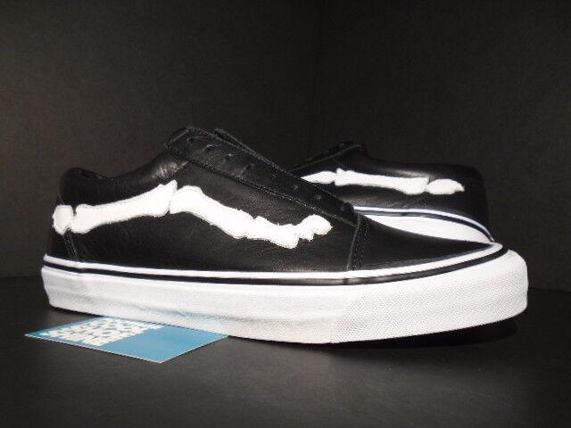 c361362804 2014 VANS Old Skool Zip LX Blends Design Bones Black White WTAPS Vn-0yr59jn  11 for sale online