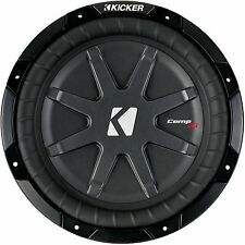 "KICKER 40CWRT101 CAR 10"" 1 OHM COMPRT SHALLOW SUBWOOFER SUB WOOFER 40CWRT10-1"