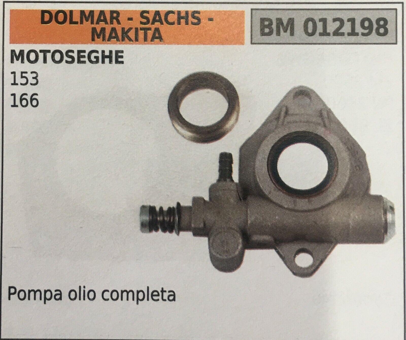 Bomba de Aceite Brumar BM012198 Dolmar - Sachs - Makita