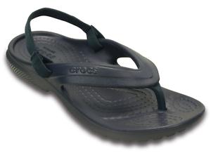 prezzo ragionevole qualità affidabile negozio outlet Crocs Classic Flip Kids blu infradito gomma mare bambino con ...
