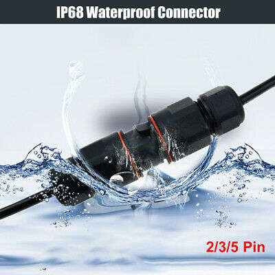 Details about  /2//3//4//5 WAY CORE JOINT IP68 WATERPROOF CABLE CONNECTOR FOR WIRE DIA.3-11.5MM 2A
