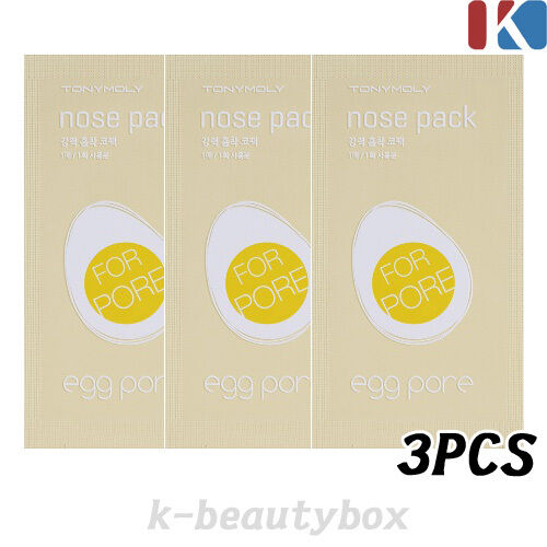 Powerful Egg Pore Nose Cleansing Strip sheets Pores Blackhead / Korean Cosmetics