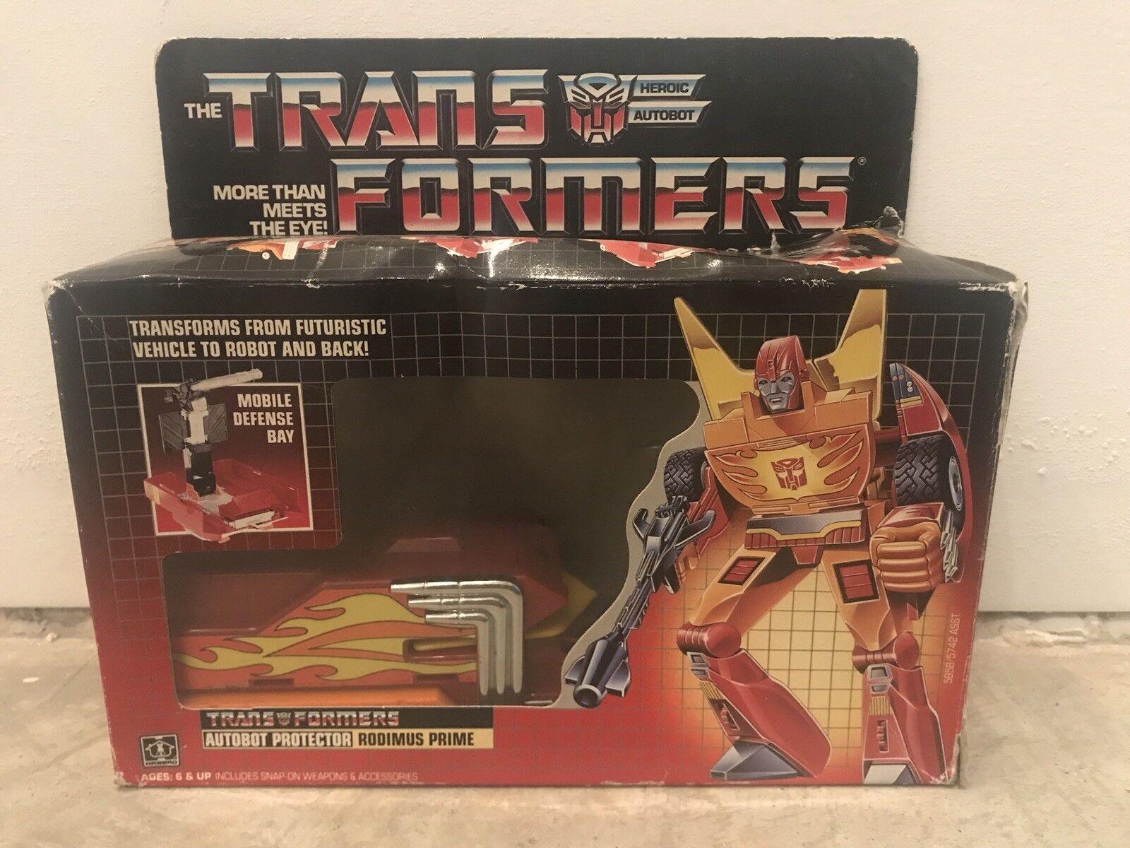 Transformers Original G1 Rodimus Prime With Box