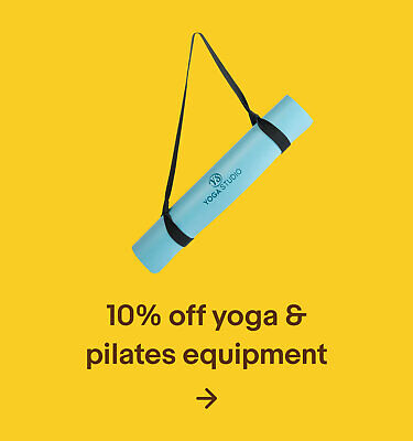10% off yoga & pilates equipment