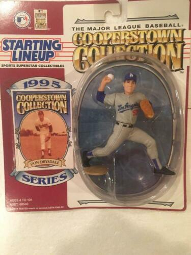 1995 Don Drysdale Los Angeles Dodgers Cooperstown Starting Lineup Figure