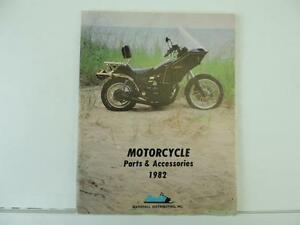 1982 Motorcycle Parts And Accessories Catalog Kawasaki Suzuki Honda L7172 Ebay