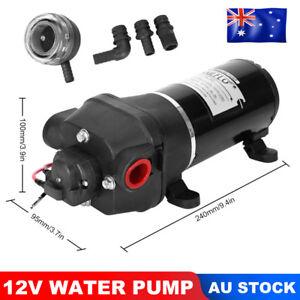 12V-Water-Pump-17LPM-Self-Priming-40PSI-Caravan-Trailer-Camping-Boat-Garden