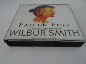 A-Falcon-Flies-by-Wilbur-Smith-Audio-CD-read-by-Martin-Jarvis
