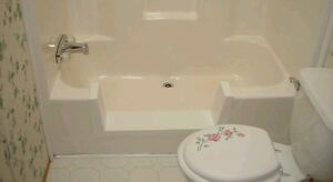 Walk In Bath Tub Shower Quick Step Through Insert Diy