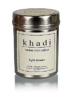 Khadi-Natural-Herbal-Light-Brown-Henna-Hair-Color-150gm