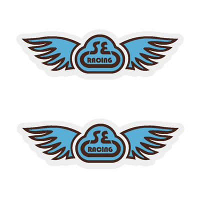 SE Racing Wings decal gold//clear
