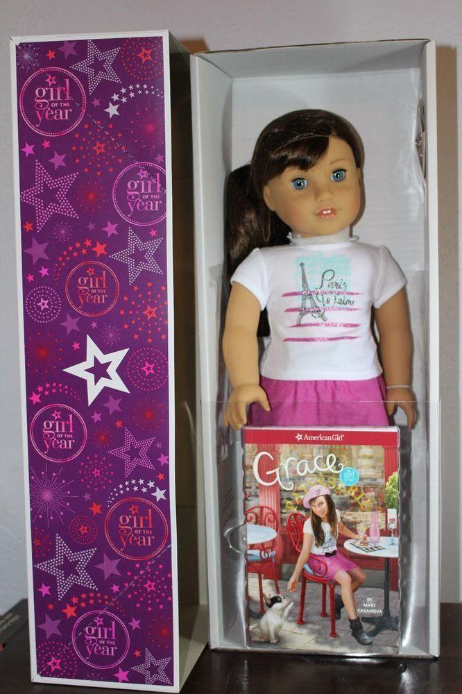American Girl Doll Grace Thomas muñeca del año 2015 retirado Nuevo En Caja