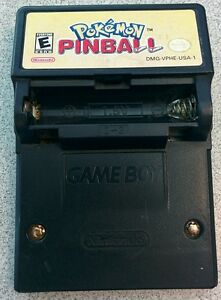 Game-Boy-Color-Pokemon-Pinball-w-NO-battery-cover-CART-ONLY-USED