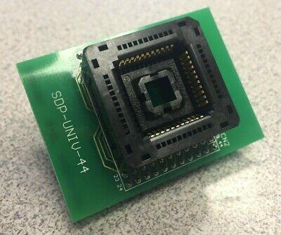 PLCC 28 Pin to DIP 24 Pin adapter for programming ATF22V10C  /& other 28 pin PALs