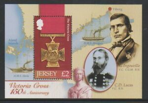 Jersey-2006-Victoria-Croix-feuille-MNH-SG-MS1258
