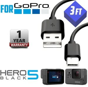 3ft-1M-For-GoPro-Hero-Black-5-Camera-USB-Data-Sync-Power-Charger-TYPE-C-Cable
