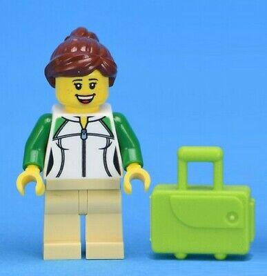 LEGO City Picnic Table /& Dad /& Girl Child Minifigures Train Station Idea 60197