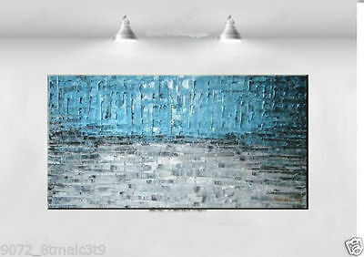 CHOP45 large modern abstract 100/% hand-painted oil painting wall art on canvas