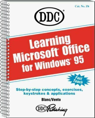 Learning Windows 95 Office by DDC Publishing , Paperback