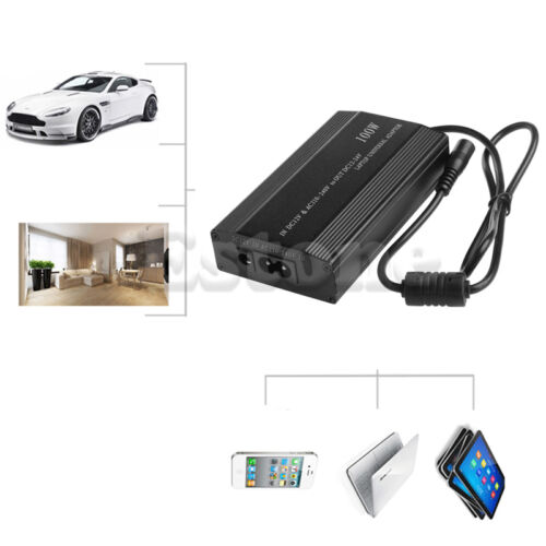POP DC In Car Charger Notebook AC Adapter Power Supply Universal For Laptop 100W