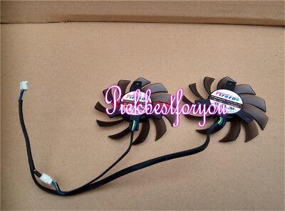 Dual 75mm 5pin Cooling Fan Asus GPU VGA Video Card Cooler FD7010H12S M604 QL YH