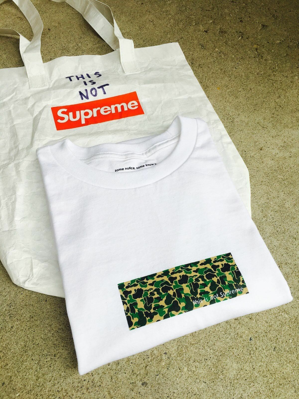 This is Not Supreme Box Logo Tee