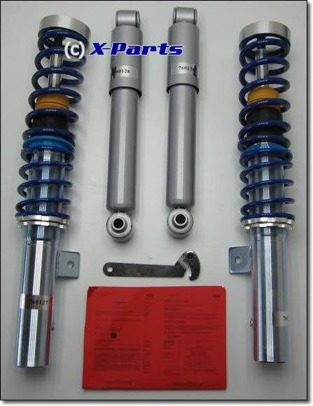 Jom Suspensión Roscada Peugeot 206 Sw RC cc+2 Tubo Amortiguadores + Homologación