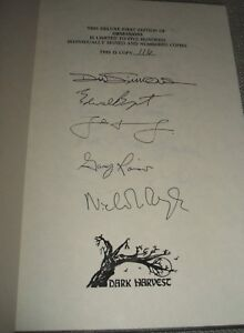 Signed-limited-First-Edition-of-Obsessions-Signed-by-32-Contributors-Fine-Copy