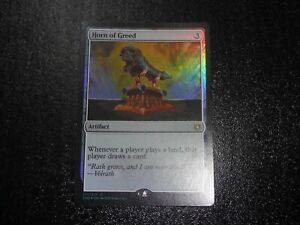 STRONGHOLD NM HORN OF GREED MTG RARE MAGIC: THE GATHERING