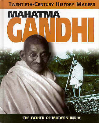Adams, S, Gandhi (Twentieth Century History Makers), Very Good Book