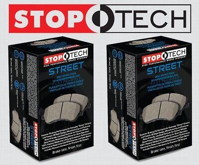 Stoptech Street Select Disc Brake Pads FRONT + REAR SET w//BREMBO STP101013