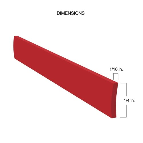Red Auto-Body Molding Trim for Car SUV Truck Exteriors 30/' Feet Long