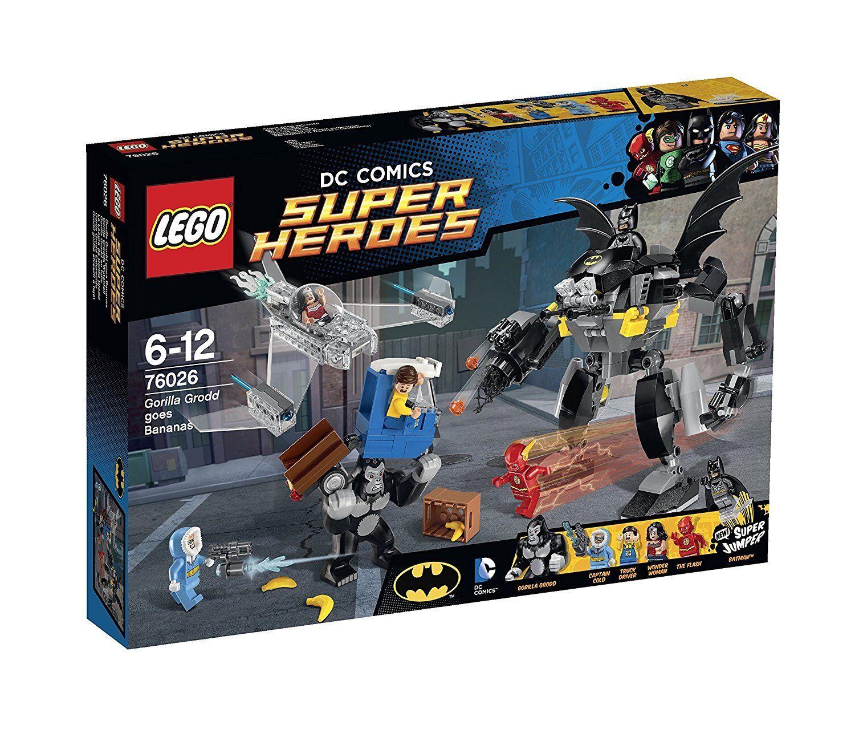 Lego Marvel Super Heroes 76026 GORILLA GRODD GOES BANANAS XMAS Wonder Batman Nuovo