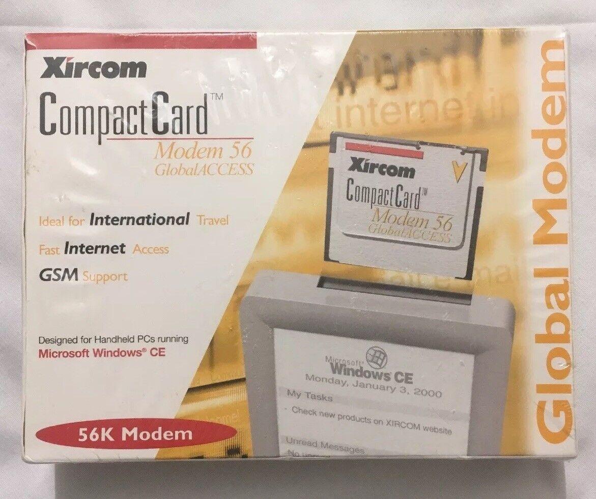 Xircom CFM56G CompactCard Global Access Modem for Pocket PC New Factory Sealed