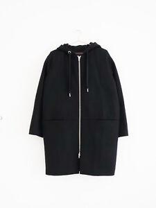 manteau manteau autres Zip capuchon Stockholm histoires Uk10 Hof115 noir à Schwarz 36 4XZwp4xq