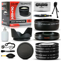 10 Piece Ultimate Lens Kit For The Fuji Finepix S7000
