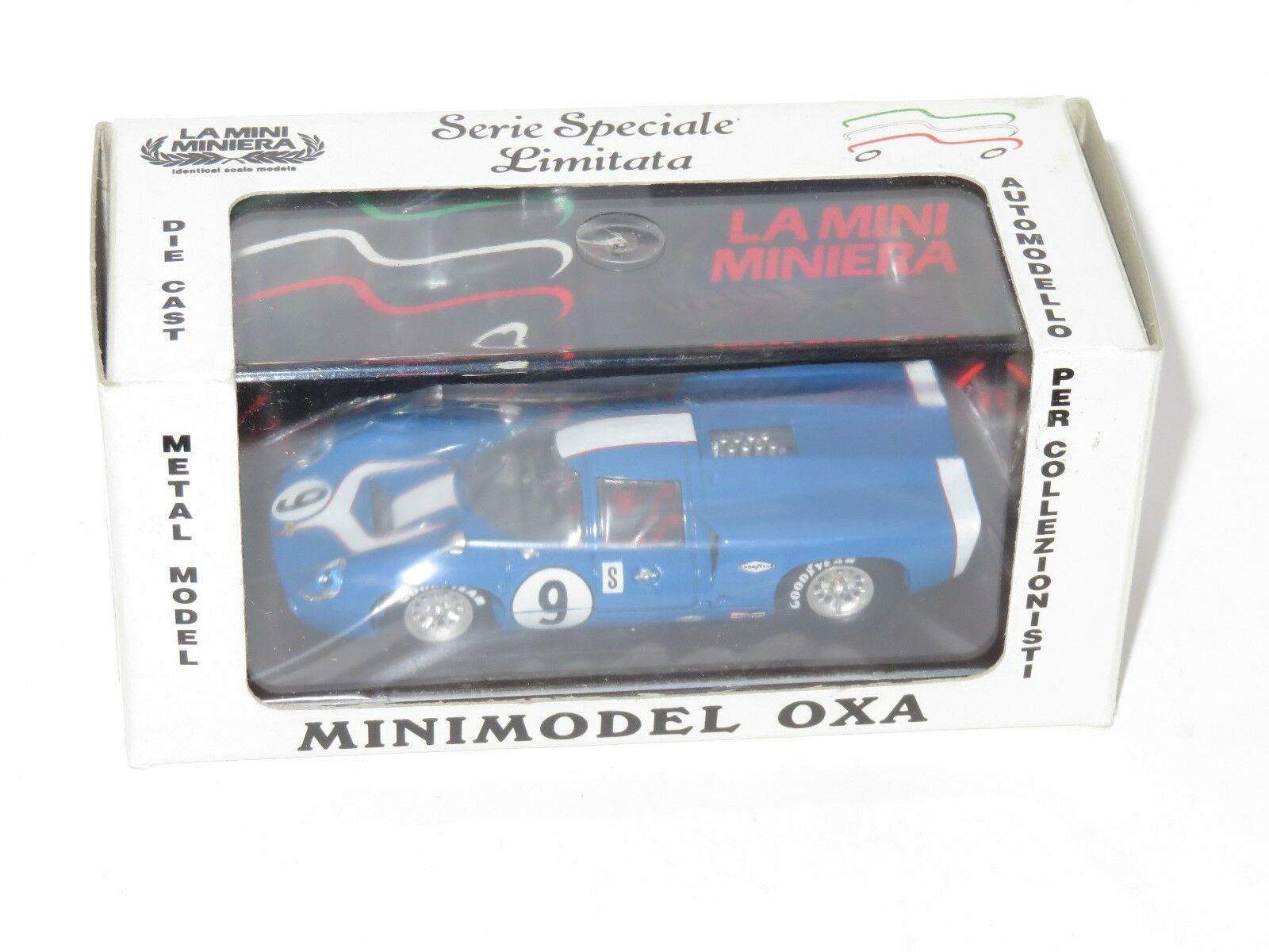 Set of 5 Different 1 43 OXA Minimodel    Lola T70 Chevrolet   Aston Martin c32679