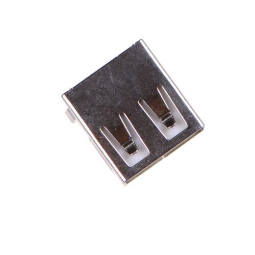 20pcs//lot USB 2.0 4Pin A Type Female Socket Connector G54 2 feet 90 deg eR