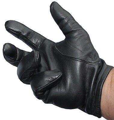 8f4de1c8a81efc Leather police tactical gloves black | eBay
