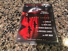 Horror Classics New Sealed DVD! 5 Films The Gorilla Devil Bat Human Monster