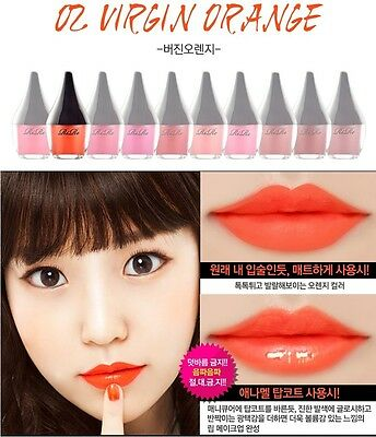 Rire Lip Manicure Waterproof Tint Full Size Gel Korean Strong color Makeup Matte