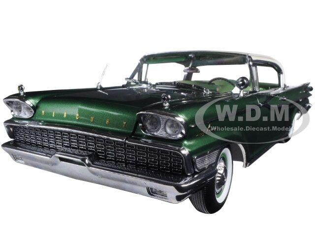 1959 quecksilber park lane hard top, grüne 1   18 platinum edition sunstar 5164