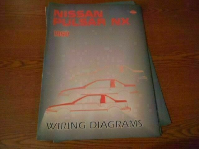 1990 Nissan Pulsar Nx Wiring Diagrams Shop Manual Dr284