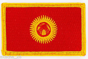PATCH ECUSSON BRODE DRAPEAU KYRGYZSTAN INSIGNE THERMOCOLLANT NEUF FLAG 4HG7V01h-09093130-455966147