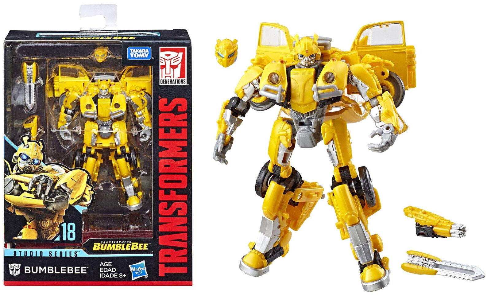 Transformers Studio Series  Bumblebee VW Film Series Figure  18  Deluxe Class