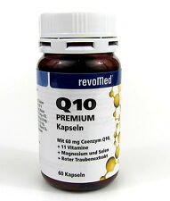Q10 Premium 60 Vitalstoffkapseln revoMed Kapseln 60 mg Coenzym Q10 OPC
