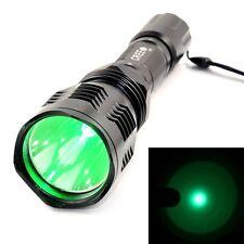 New LED Flashlight Hunting Light Green Spotlight CREE XPG 900LM 1 Mode 3.6V-18V